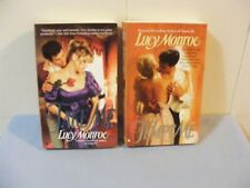 Lot of 2 LUCY MONROE -Historical Romance #2 #3 Langley Family series- pbs