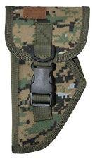 Woodland Digital Sm Left Hand Gun Belt Holster BB Airsoft Pistol Tactical 205WL