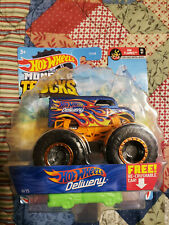 Hot Wheels Monster Trucks Assortment 1:64 Diecast Dairy Delivery Truck Toy