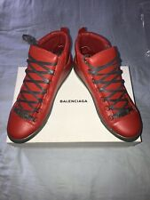 Balenciaga Red Arena High-Top Sneakers, Size 44 (US Size 11)
