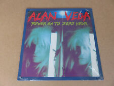 ALAN VEGA Power On To Zero Hour MUSIDISC LP 1991 RARE SEALED COPY 108121 SUICIDE