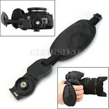 Nouveau Poignée Courroie Dragonne Noir pour CANON Nikon Sony Olympus Pentax