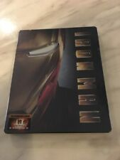 Iron Man Blufans Steelbook Collector Case Blu-ray (V1) Exclusive OOP/RARE NEW!!!