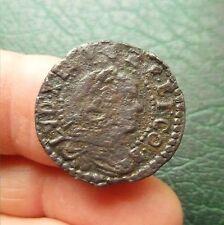 Louis XIV - Monnaie Franco-Catalane - Sizain - Date indéterminée - Barcelone