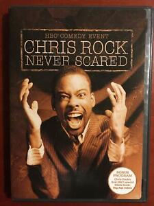 Chris Rock - Never Scared (DVD, 2004) - G0412