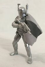 Star Wars SILVER BOBA FETT 2003 Convention Exclusive 25th Anniversary complete