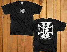 West Coast Choppers Cross T-Shirt HEAVY COTTON. REPRINT