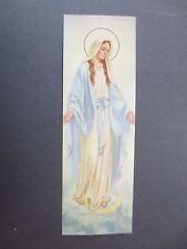 BOOKMARK Religious Christian Our Lady Mary Catholic Bible Quote Luke 1 : 38