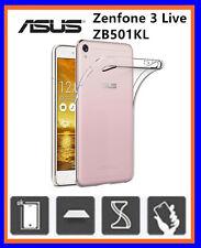 COVER CUSTODIA  TRASPARENTE TPU GEL SILICONE PER ASUS Zenfone 3 Live ZB501KL