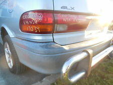 1991 Toyota TCR10 Tarago LH Tail Light Extension S N V7039 BJ9618