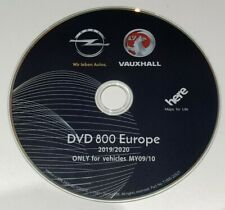 2019-2020 DVD Vauxhall Opel Chevrolet map update disc DVD800 MY2009 sat nav DVD