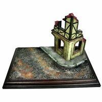 Diorama Landschaft Layout Militär Sand Tisch Gebäude Ruinen Haus Modell Kit 1/35