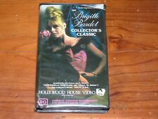 Brigitte Bardot Collectors Classic VHS 1950's Hollywood House Video PAL