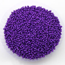 30g 2MM Opaque Glass Seed Beads Jewellery Making Finding Craft