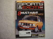 Sports & Exotic Car 2009 June 58 Beutler-Porsche, 70 Saab 96, BMW 2000 tii