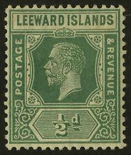 Leeward Islands  1921-32  Scott # 62  Mint Very Lightly Hinged