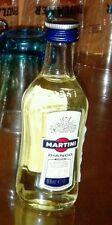 Bottiglietta Mignon Da Collezione Martini Bianco in Vetro Sigillata Prezzo Super