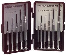 Precision Mini Screwdriver Set 11 piece - 5 Phillips Head and 6 Normal Head