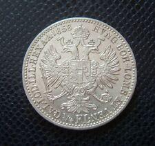HUNGARY - AUSTRIA / SILVER 1/4 FLORIN / EXTRA! / 1858 B