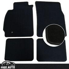 FIT for 02-07 Mitsubishi Lancer EVO 4Dr  4Pcs Black Nylon Floor Mats Carpets