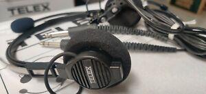 NEW ~Never Used~ Telex Airman 750 64300-200 Dual plug GA Pilot  Headset (No Box)