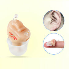 Hearing aid Amplifier (CIC) Enhancer in Canal,Invisible, Sound USA ship Small