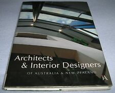 ARCHITECTS AND INTERIOR DESIGNERS OF AUSTRALIA AND NEW ZEALAND - HC Book 1994