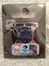 I Was There! NY Rangers vs Islanders NHL Hockey 2014 Stadium Series Pin Yankee