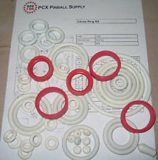1980 Gottlieb Circus Pinball Machine Rubber Ring Kit