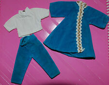 SKIPPER SIZED BLUE VELVET OUTFIT COULD BE TAMMY PEPPER OR PENNY BRITE