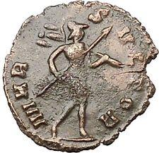 Claudius II Gothicus 268AD Ancient Roman Coin Ares Mars War God Cult   i40810