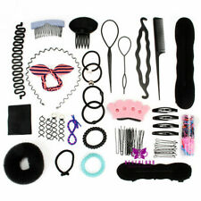 Salon Haar Styling Zubehör Salon Friseur Braid Hair Design DIY Tools Set # 5