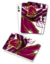NRL Brisbane Broncos Deck Playing Cards Poker Mascot Cards Christmas Gift