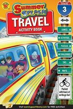 3rd Grade Travel Activity Book Summer Splash games/puzzles answer key Third
