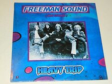 "FREEMAN SOUND - Heavy Trip (1970) / Re. World in Sound / LP + 7"" (Sealed) Rare!"