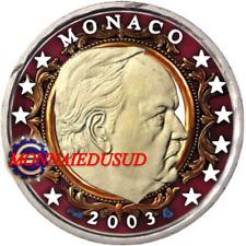 2 Euro Monaco 2003 en Couleur Type A - Prince Rainier III
