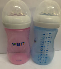 Philips Avent Natural baby bottles (Blue/Pink) 9oz 2...