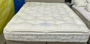 Hypnos pillowtop DAWSON MATT dual comfort MEDIUM/FIRMER 180X200 S.KING RRP £1650