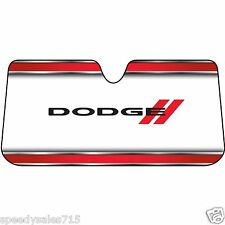 Universal Plasticolor 003736W01 Dodge Red Windshield Sunshade New Free Shipping