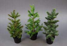 3er-Set Tannenbäumchen Natura 30cm PF künstlicher Tannenbaum Kunststoff