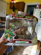TRANSFORMERS BEAST WARS 10th ANNIVERSARY RHINOX TRANSMUTATE NEW SEALED