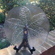 "Kosta Boda Sweden PARTY Leaf 12.5"" Platter - Beautiful!"