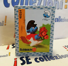 40214 2.0214 Puffo cavalluccio Smurf hobby horse Schlumpf Steckenpferd Pitufo