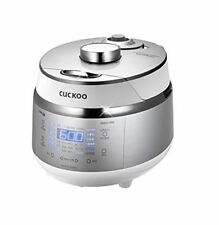 CUCKOO CRP-EHS0310FW Electric Pressure Rice Cooker 3 Servings