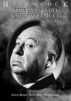 MAN WHO KNEW TOO MUCH - DVD - Region Free - Sealed