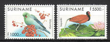 Suriname - 1999 Definitives birds- Mi. 1705-06 MNH