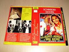 JAQUETTE VHS Les Jeunes Années d'une reine Romy Schneider