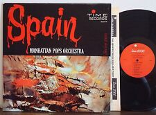 "BELLINI POP ORCH ""Spain"" RARE EXC 1962 TIME MONO LP Phil Bodner-Don Butterfield"