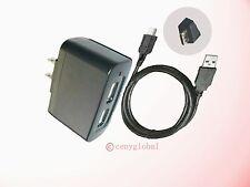 AC Adapter+USB Charger Cord For Samsung Galaxy EK-GC100 EK-GC110 EK-GC120 Camera