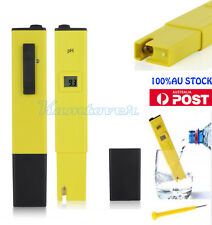 Digital PH Meter Tester Hydroponics Portable Pen Aquarium Pool Water Testing Kit